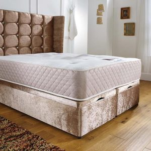 End Opening Ottoman Bed-Frame Cuban 48