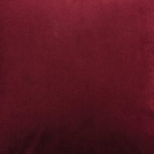 Plush Velvet Maroon Red 10