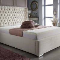 Ottoman Storage or Divan Bed Wingback