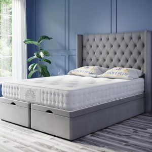 Ottoman Bed Queen Anne End lift