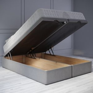 ottoman Bed 33cm Base Unit Open Position